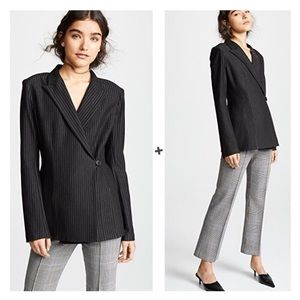 NWT Bailey 44 Striped Ponte Jackpot Jacket Blazer